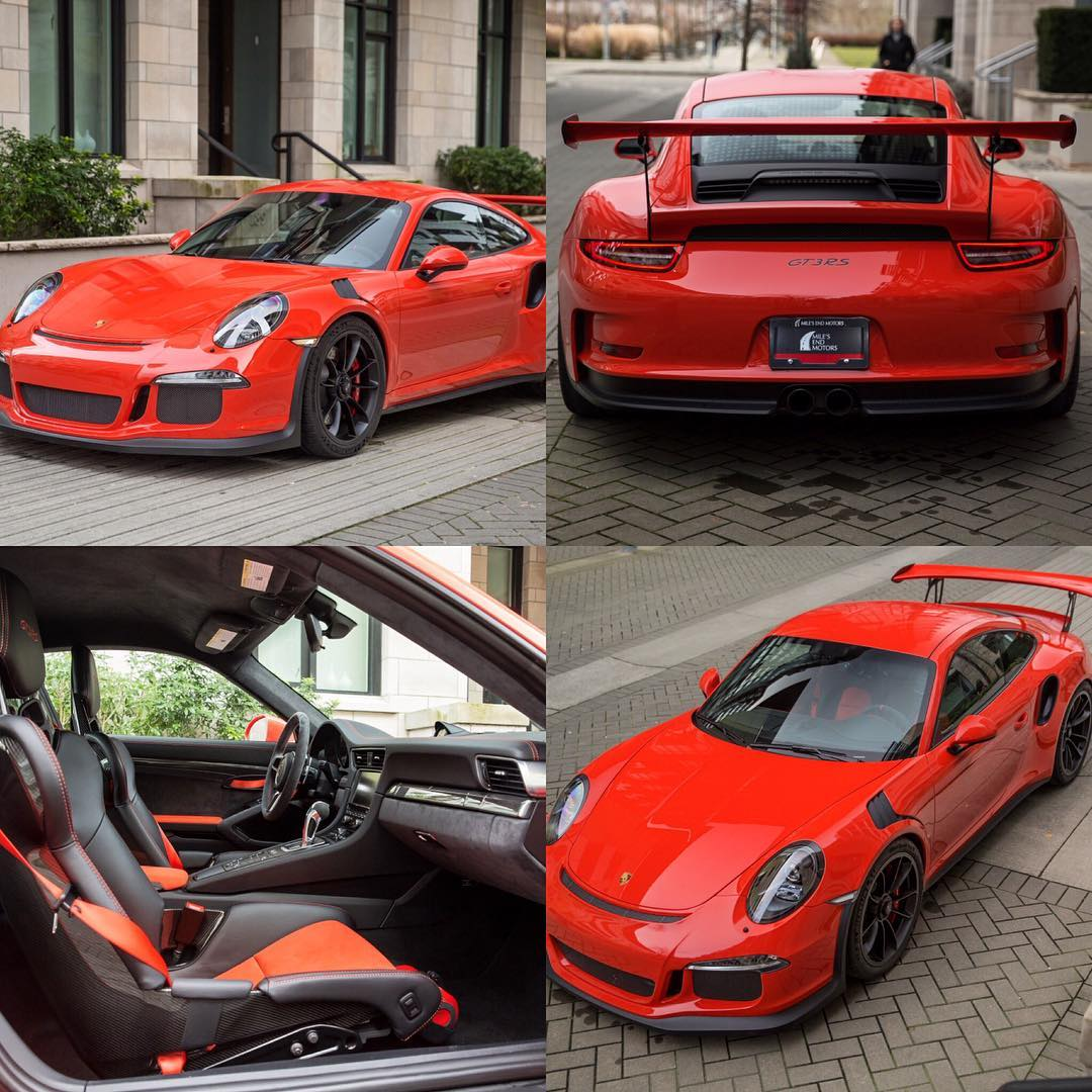 2016 Porsche GT3RS Well arguably one of Porsches most fantastichellip