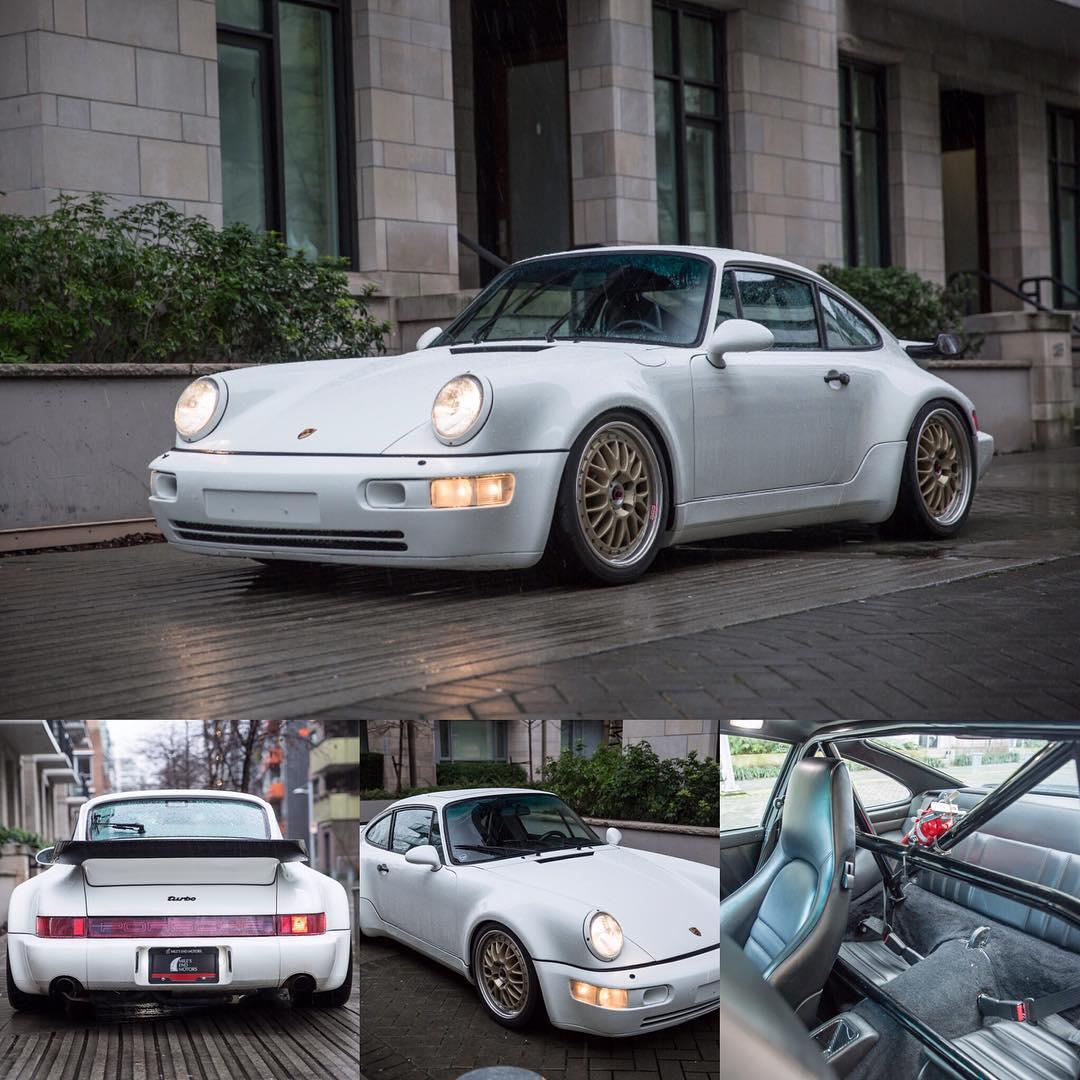 1992 Porsche 911 turbo 964 What a great find forhellip